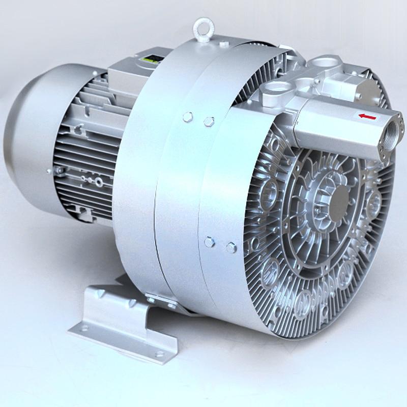 Big Blower Supercharger: 5.5kw Pressure Premium Big Industrial Air Blower ( More