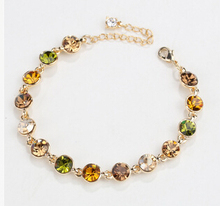 Korea New Hot Round Crystal Women Bracelet Fashion Jewelry Elegant Lady All match Personality Accessories