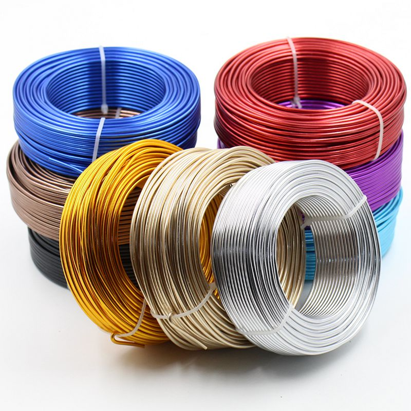 Aluminum Wire | Aliexpress Com Buy 37m Roll 2 5mm Diameter Colored Oxidation