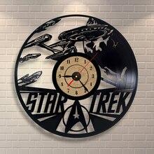 2018 New Vinyl Record Wall Clock  Classic Clocks Saat Horloge Murale Relogio De Parede Wall Clock klok
