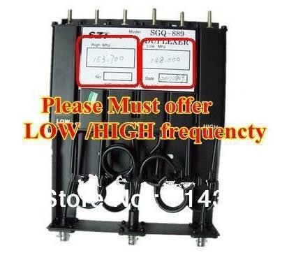 Бесплатная доставка Радио Двусторонней Печати UHF для Repeater двухстороннее радио GM-300 GM-3188 GM-388 6 ПОЛОСТИ