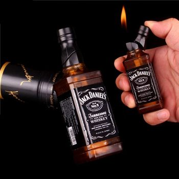 jack daniel mini creative butane lighter fire starter without gas