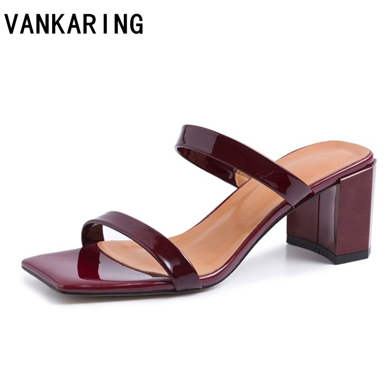 black apricot fashion summer ladies shoes super high dress shoes thick heel platform mules high heels genuine leather sandals-in High Heels from Shoes    1