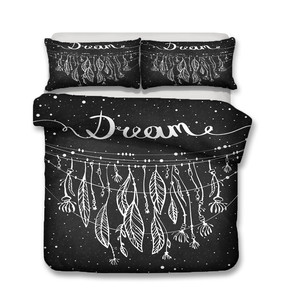 Image 2 - Bedding Set 3D Printed Duvet Cover Bed Set Dreamcatcher Bohemia Home Textiles for Adults Bedclothes with Pillowcase #BMW05