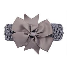 Cute Headband for Infants with Bow Knot Design