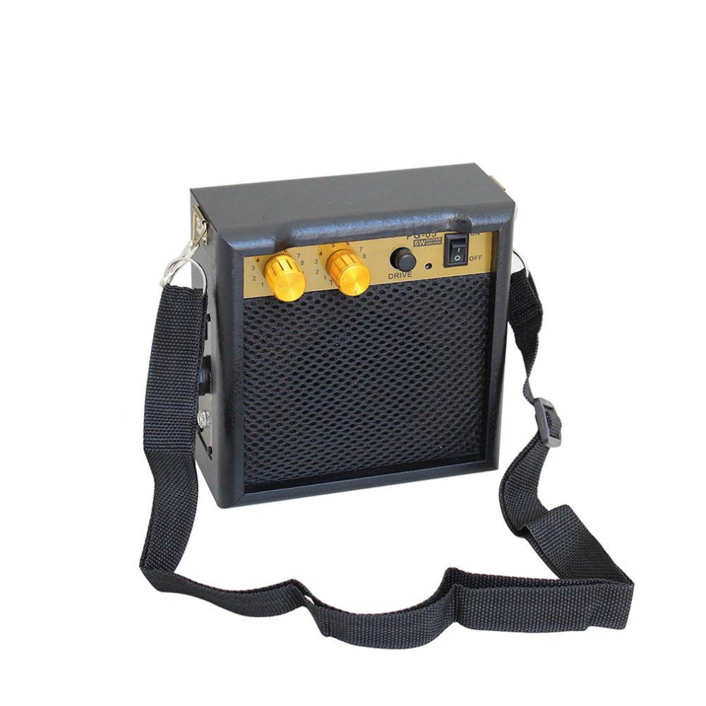 pg 05 mini guitar amplifier guitar amp with 3 inches speaker guitar accessories for acoustic. Black Bedroom Furniture Sets. Home Design Ideas