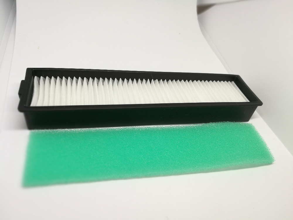 1 PCS Replacement H11 HEPA Filter And Green Sponge For LG Hom Bot VR6270LVM VR65710 VR6260LVM VR Series Robot Cleaners