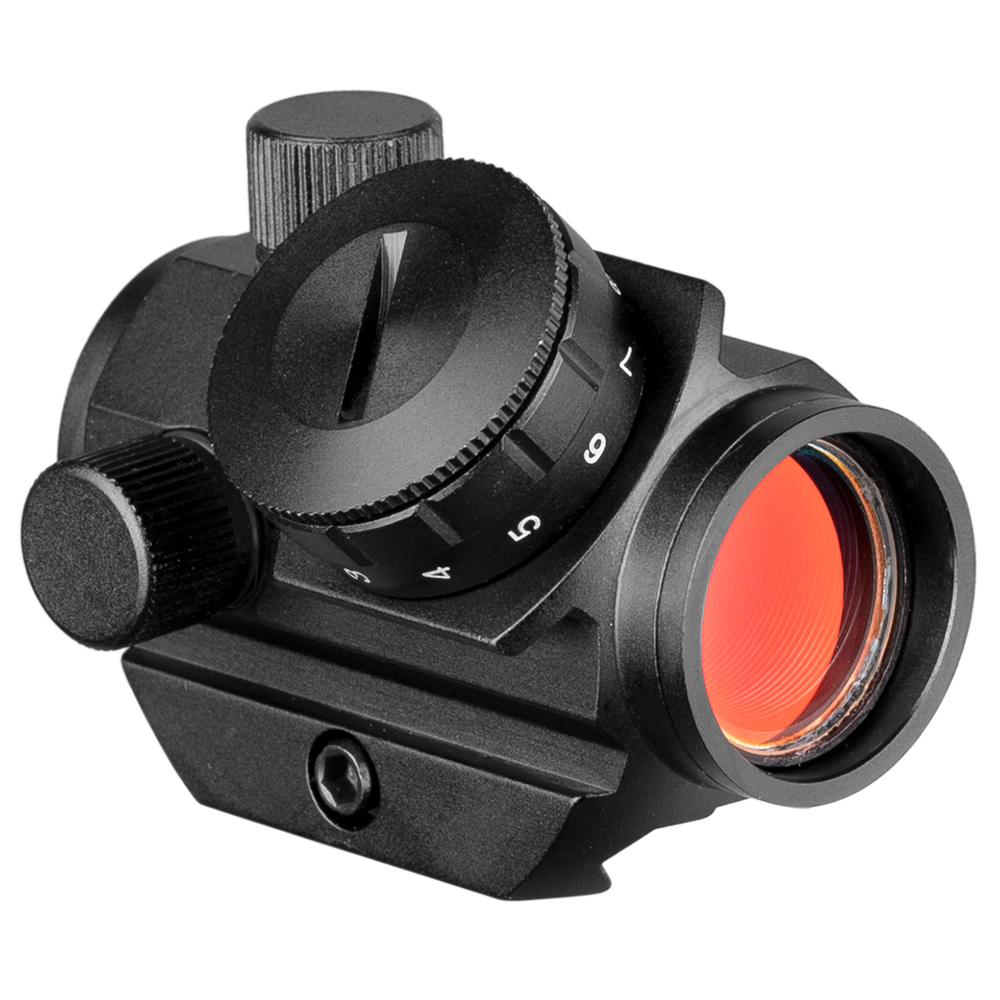 20mm Rail Riflescope Hunting 1x25 Optics Holographic Red Dot Sight Reflex 4 Reticle Tactical Scope Hunting Accessories