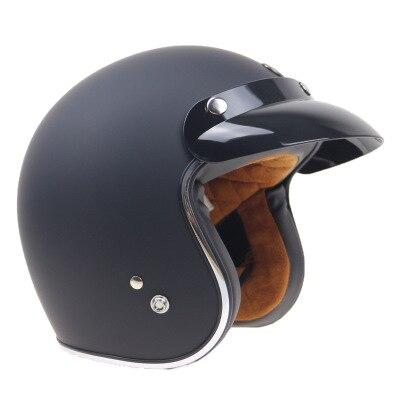 DOT MASEI moto rcycle Casque moto cicleta Cacapete Casco Casque Harley rétro face ouverte Casque 3/4 moto casco DOT approuvé