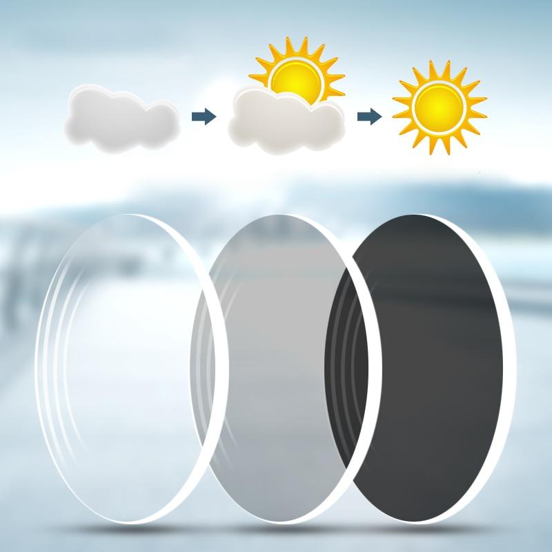 Einzigen Asphärische strahlung Vision Brillen Objektiv 7 Presbyopie Myopie Linse Gray Index Photochrome 1 Mr Anti Rezept Photochromism 67 ExFSwtqZI
