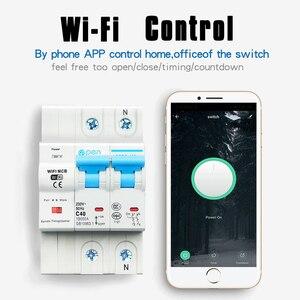 Image 5 - Smart Life 2P 40A รีโมทคอนโทรล Wifi Circuit Breaker/Smart Switch overload, ป้องกันการลัดวงจรสำหรับ Smart home