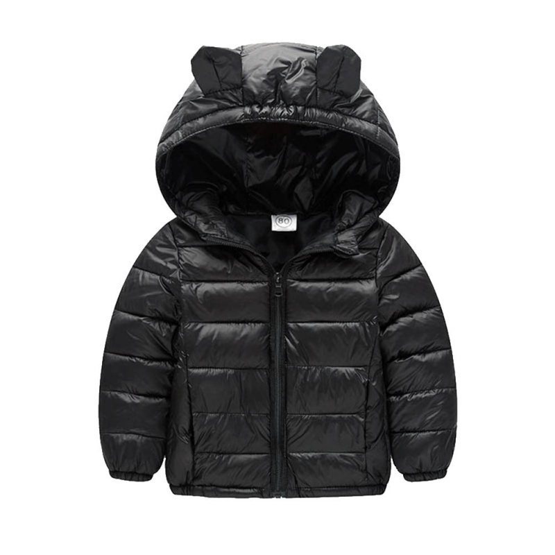 Winter Baby Jackets Boys Girl Long Sleeve Warm Outerwear Clothes Hooded Jacket Fashion Kids Girl's Cotton Parkas warm thicken baby rompers long sleeve organic cotton autumn