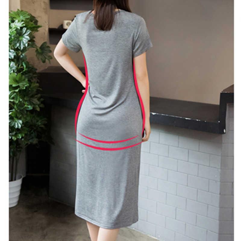 Летнее макси платье-футболка, женское винтажное повседневное сексуальное облегающее платье для вечеринки, элегантные пляжные Boho бандажные черные длинные платья, большие размеры