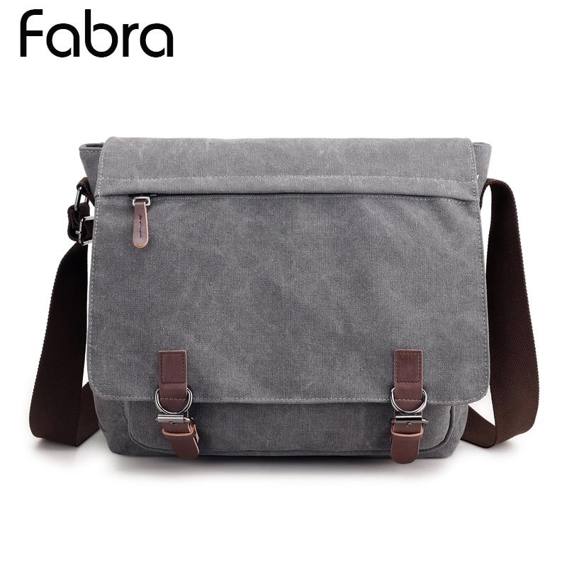 Fabra Men Canvas Business Shoulder Bag Men Messenger Bags Handbag Tote Bag Multifunction Back Pack Laptop Briefcase High Quality все цены