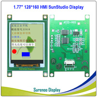 """1.77"""" 1.8"""" 128*160 HMI Intelligent Smart USART UART Serial TFT LCD Module Display Panel for Arduino without Touch Panel"""