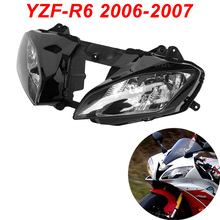 For 06-07 Yamaha YZFR6 YZF R6 YZF-R6 Motorcycle Front Headlight Head Light Lamp Headlamp CLEAR 2006 2007 цены