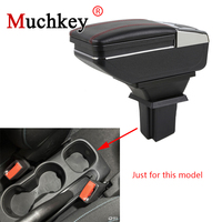 For Chevrolet Trax 2014 2015 2016 2017 Armrest Box Car Center Storage Box With Cup Holder Ashtray Arm Rest Rotatable Car styling