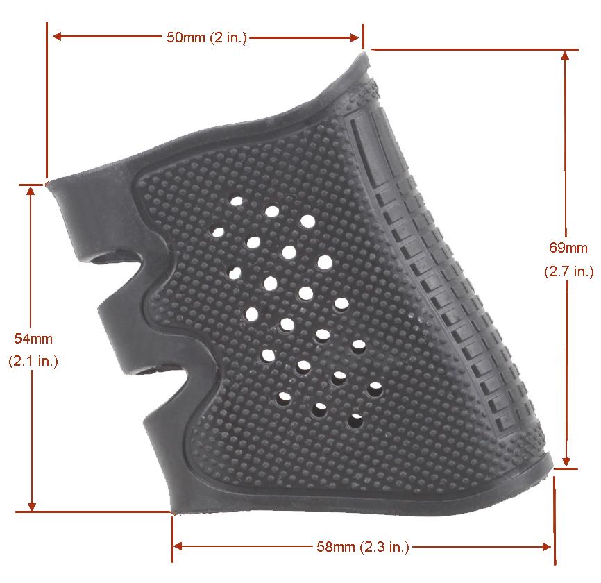 Pistol Grip Cover Gen2 Acom 6