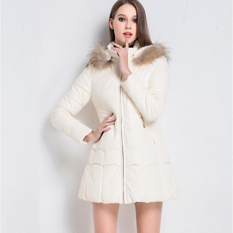 Nieuwe mode winter jas vrouwen Solid Zipper Casual slanke korte parka warme Jas capuchon katoenen parka mujer 2018 femme hiver