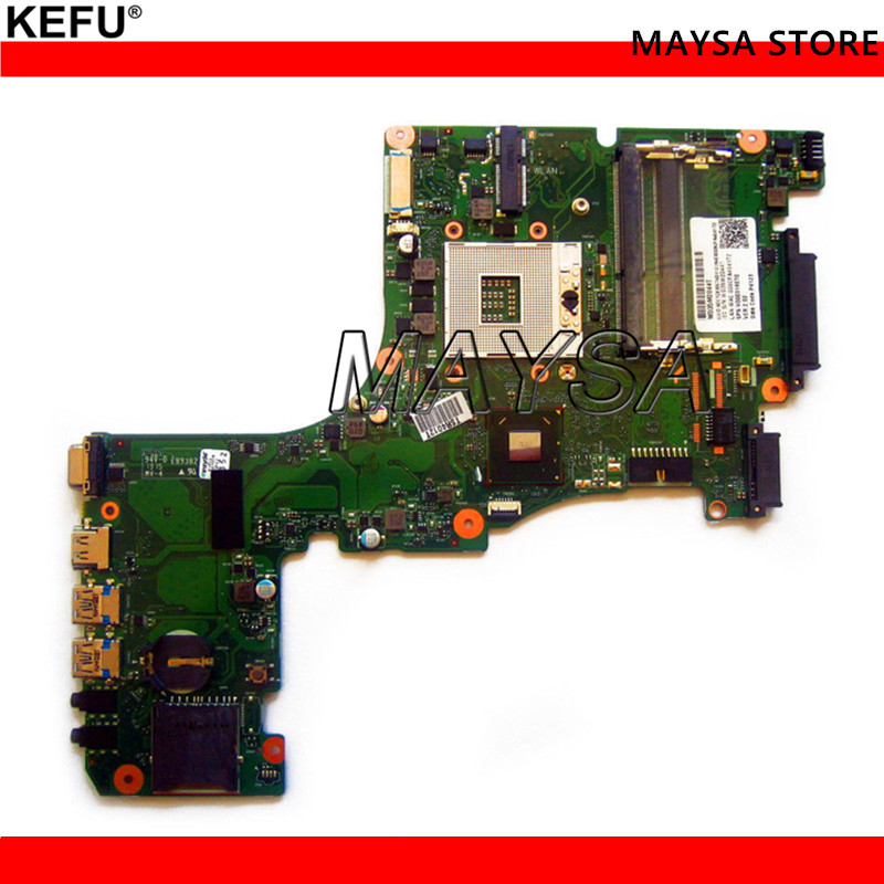 V000318140 For Toshiba Satellite L50-A L50T-A Laptop Motherboard SLJ8E HM76 CR10F-6050A2556301-MB-A02 PGA989 DDR3 100% Tested free shipping v000318010 for toshiba satellite l50 a l55 a l50t a l55t a laptop motherboard all functions 100% fully tested