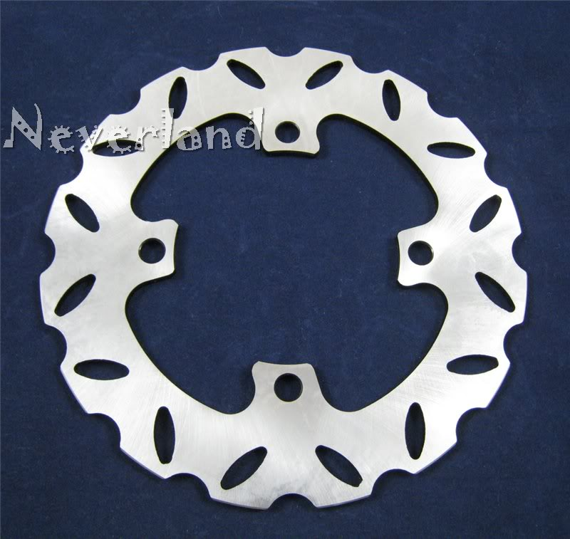 ФОТО Hot sale Motorcycle Rear Brake Disc Rotor For Kawasaki Ninja ZX6R ZX6RR ZX636 ZX9R ZX10R Z750 Z1000 C50 Drop ship