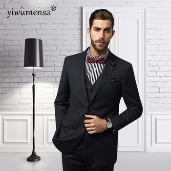 YWMS-116 latest coat pant designs costume homme Men suits 2018 men wedding suit slim business suit groom tuxedos 3 pieces suit