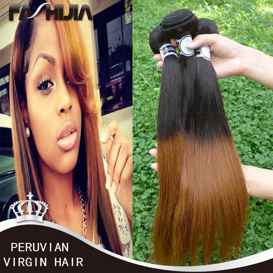 Straight perm products - New Sell Hair Company Peruvian Virgin Hair Straight 1b 30 Ombre Two Tone Soft Full Hair Products Peruvian Hair Extensions Online