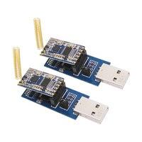 Wireless RF Module Kit 2pcs SV610 1pc USB Bridge Board 2pcs Spring Antenna TTL Interface 433MHz