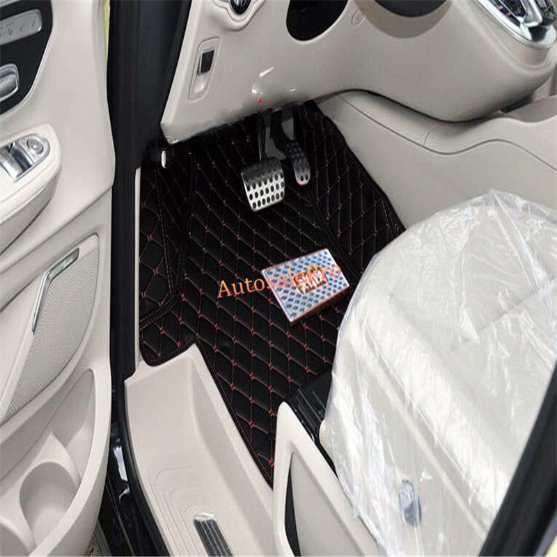 For Mercedes Benz E Class W212 2014-2015 Right & Left Hand Drive Black Front Rear Floor Mat Carpets Pad cover hand knotted carpets of uttarakhand
