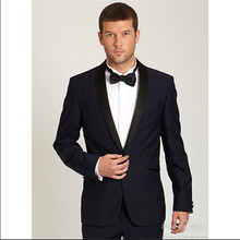 bespoke font b men b font font b suits b font dark blue tuxedo for font