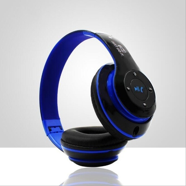 Headset wireless Bluetooth headset bass phone universal headset Bluetooth MP3 card with radio in Bluetooth Earphones Headphones from Consumer Electronics