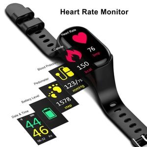 Image 5 - TWS Bluetooth 5,0 наушники, беспроводные наушники для телефона, Смарт часы с монитором сердечного ритма, настоящие Беспроводные стереонаушники, спортивные наушники