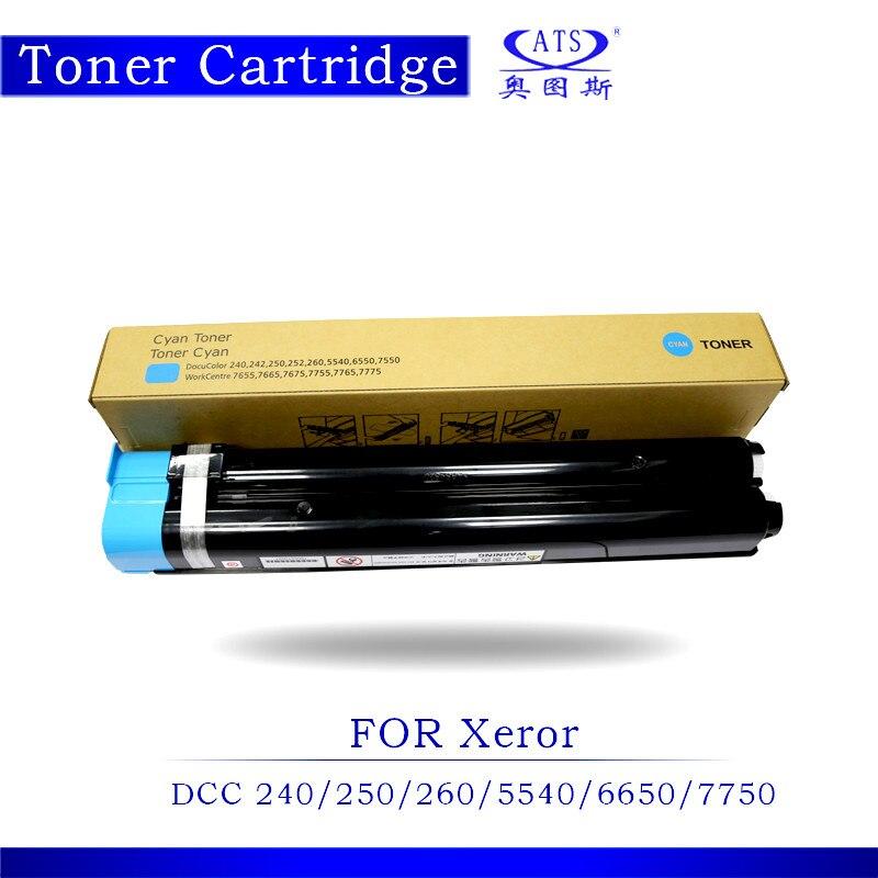 1PCS DCC240 DCC250 DCC260 DCC5540 Toner Cartridge For DCC 240 250 260 5540 6650 7750 Copier Spare Parts Toner Powder 1pcs photocopy machine toner cartridge for xerox dcc 6550 c 5400 6500 7500 copier parts dcc6550 toner powder page 2