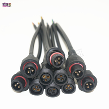 5 10 pairs 3 Pin connector Male to Female Waterproof Cable IP68