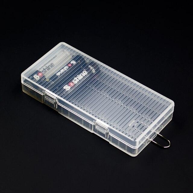 5pcs / Lot AA Battery Storage Box 8*AA Battery Holder Case with Hook Holder & 5pcs / Lot AA Battery Storage Box 8*AA Battery Holder Case with Hook ...