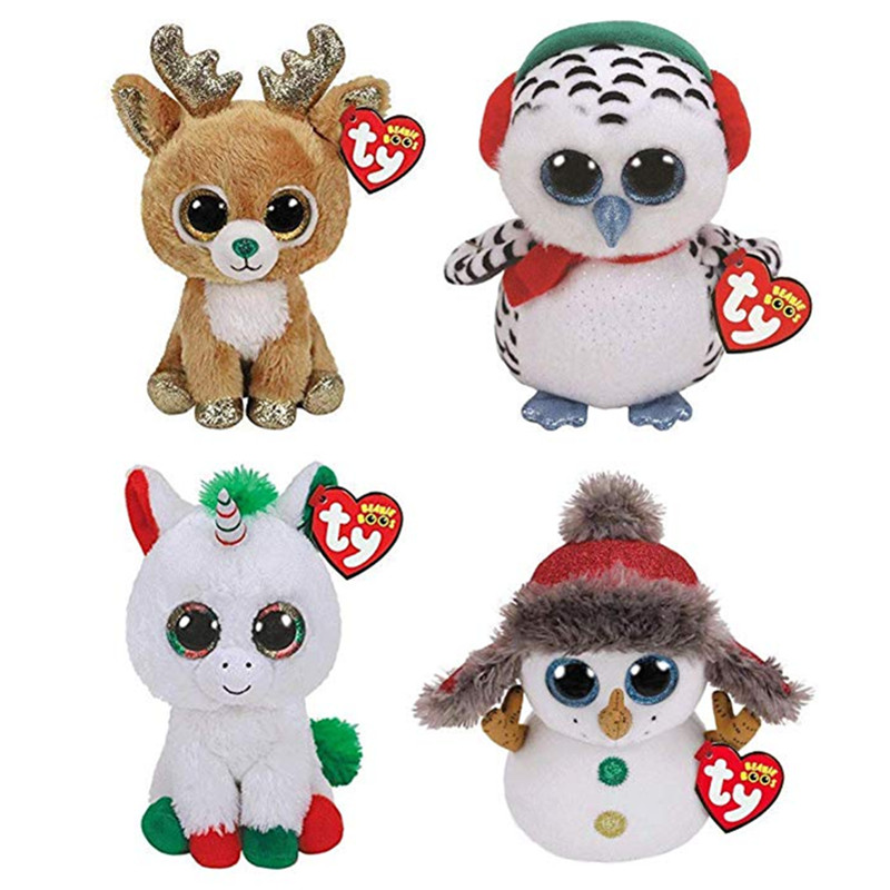 75918a16d52 Detail Feedback Questions about Hot Ty Beanie Boos Big Eyes 15CM Unicorn  Penguin Panda Plush Toy Doll Kawaii Stuffed Animals Collection Lovely  Children s ...