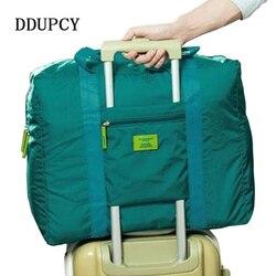 2018 nova moda bolsa de viagem à prova dunisex água unisex bolsas de viagem das mulheres bagagem viagem dobrável sacos 4 cores navio livre