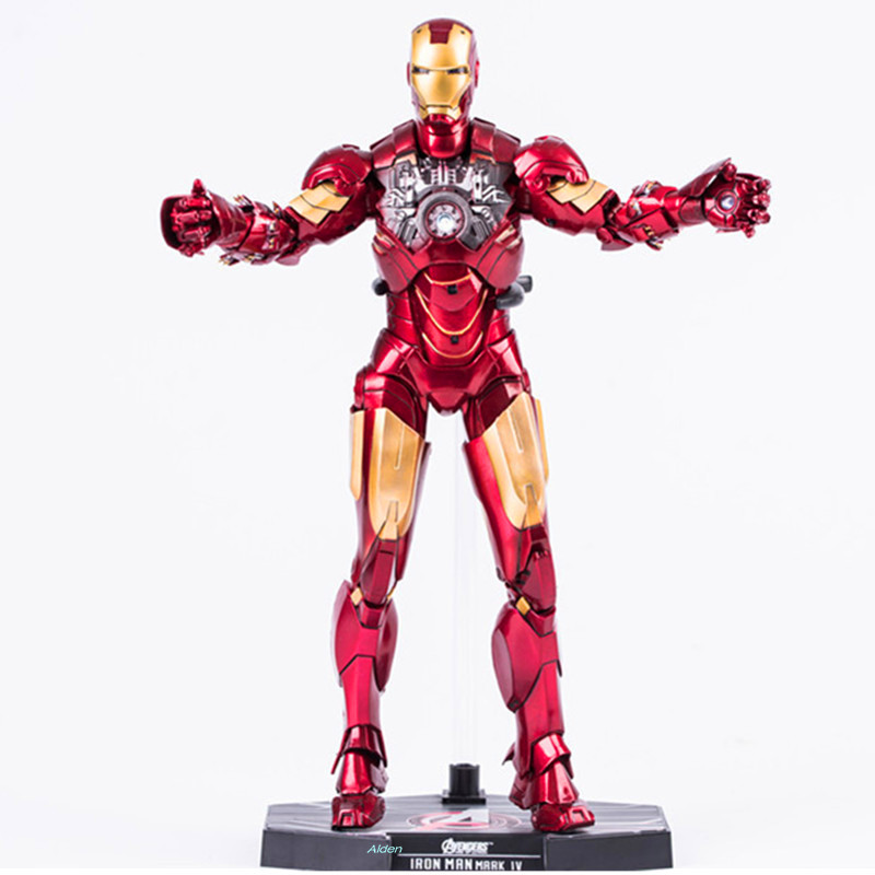 11 The Avengers Superhero Iron Man Robert Downey Jr. MK4 HC Action Figure Collectible Model Toy BOX 28 CM B10611 The Avengers Superhero Iron Man Robert Downey Jr. MK4 HC Action Figure Collectible Model Toy BOX 28 CM B106