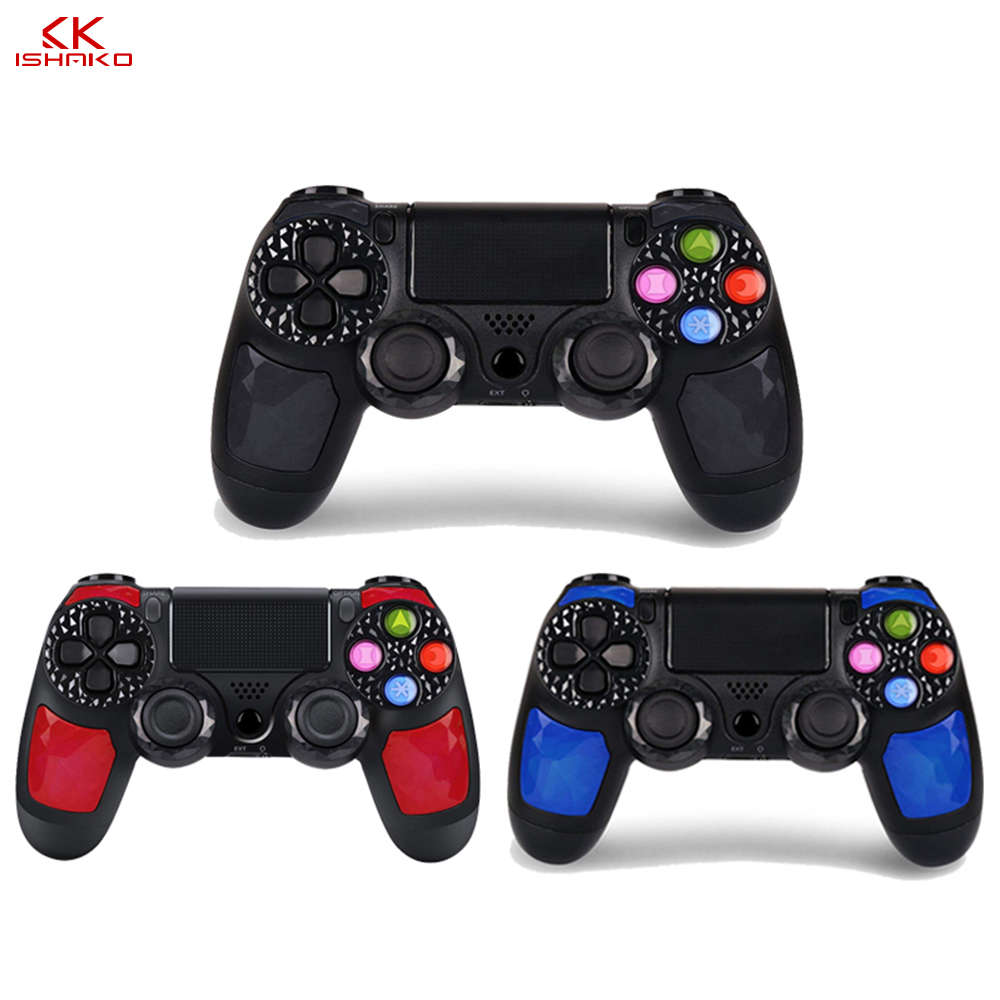 Bluetooth Wireless Gamepad Joystick for Sony Playstation 4/PS4 Pro Slim with 3.5mm Headset Plug for 10pieces wholesale price