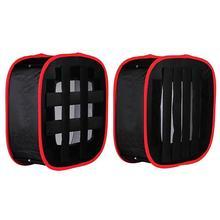 נייד מתקפל Softbox 4*4*2 סנטימטר עבור Yongnuo YN600 YN900 LED אור פנל נייד תאורה משנה עבור תמונה סטודיו Softbox