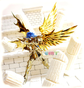 Image 3 - CMT отличные игрушки Ex Gemini Сага душа золота Сен Сейя металлическая Броня Миф Ткань Золото фигура аниме