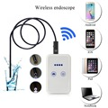 9MM 2 Mega Pixels Wireless WIFI Endoscope Camera For Android/IPhone/PC Surveillance USB Inspection Borescope Camera For Car etc.