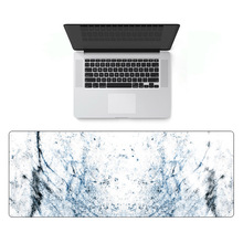 Gmilli Rubber Extra Large Keyboard Mousepads Gaming Mouse Pad Desk Mats XL Size 800x300mm Marble Pattern Dropshipping