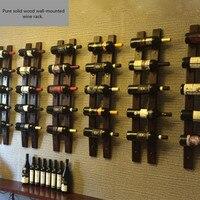 Вино подставка для подвешивания на стену современный минималистский винный шкаф настенный светильник подвесные вешалки Коммерческая деко