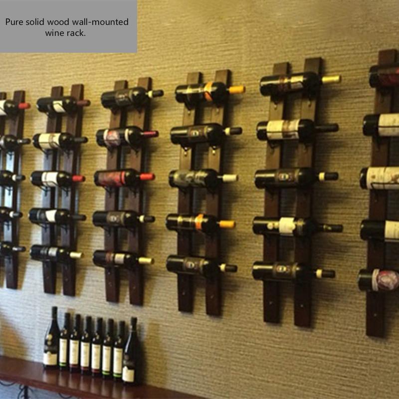 Wine Rack Wall Hanging Modern Minimalist Cabinet