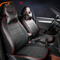 AutoDecorun PU leather seat cushion car for Chevrolet Trailblazer seat cover accessories custom car seat cushion support styling