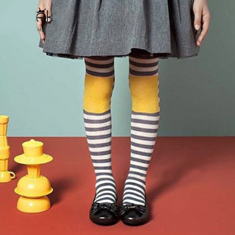 все цены на 1-10 Yrs Kids Girls Colored Tights Velvet Candy Colors Cute Big Eyes Tights for Baby Children Pantyhose Stocking Autumn