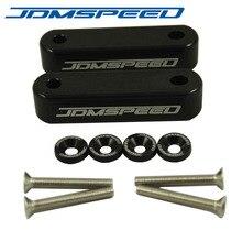 JDMSPEED черный капот распорные Стояки Набор для Honda Civic CRX 1988-2000 Acura Integra 1990-2001