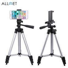 1060 мм Портативный смартфон цифровой камера штатив Стенд для DSLR камера с мобильного телефона Клип держатель для iPhone X 7 6 S 6 Plus 5S штатив для телефона подставка для сьемки штатив