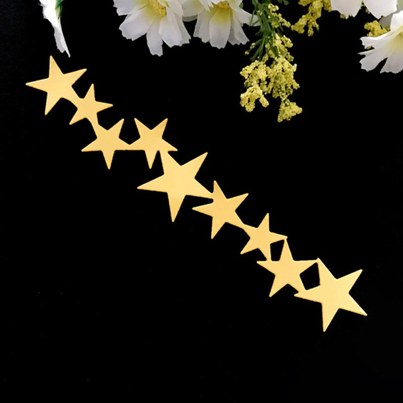 9PCS Star Design Metal Cutting Dies for Scrapbooking DIY Album Embossing Folder Paper Card Maker Template Decor Stencils Crafts in Cutting Dies from Home Garden